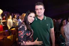 Luciana Macedo e Sérgio Benevides