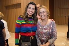 Márcia Travessoni e Emidia Oquendo