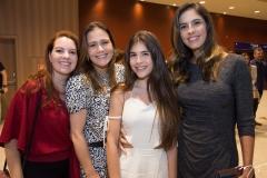 Paula Fiuza, Ticiana Studart, Cecília e Marília Fiuza