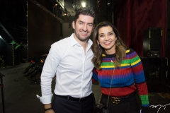 Paulo Benevides e Márcia Travessoni