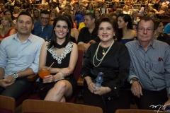 Pedro Coutinho, Patrícia, Ana Laura e Paulo Roberto Brasil