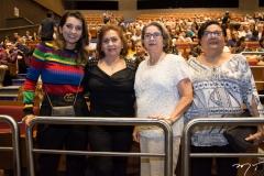 Márcia Travessoni, Etel Rios, Consuelda e Maria Luiza Azevedo