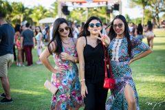 Bruna Nobre, Najila Rufino e Debora Chaves