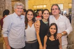 Amarílio Macedo, Patrícia Macêdo, Manoela Bacelar, Maria Bacelar e Ricardo Bacelar