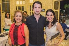 Aurinete Queiroz, Leno Furtado e Melina Abu