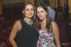 Manoela Queiroz Bacelar e Marília Queiroz Machado