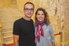 Renato Freitas e Melissa Guará