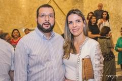 Rodrigo Greco e Niliane Meira