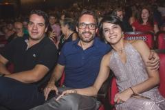 Thiago Holanda, Marcos Di Monte e Fernanda Di Monte