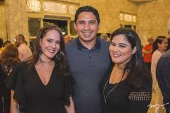 Ticiana Viana, Diego Carvalho e Ana Maria Bacelar