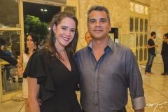 Ticiana Viana e Fernando Bacelar