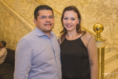 Valdetário Monteiro e Karine Moreira