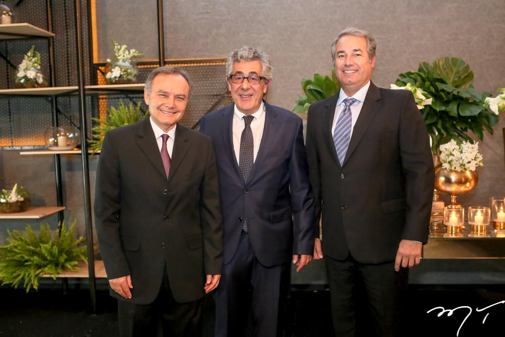 Adauto Farias, Emmanuel Mitsou e Carlos Telles