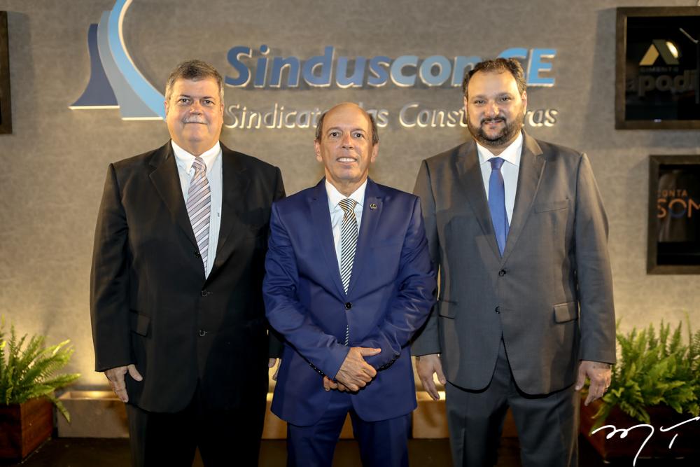 Andre Filismino, Andre Montenegro e Patriolino Dias