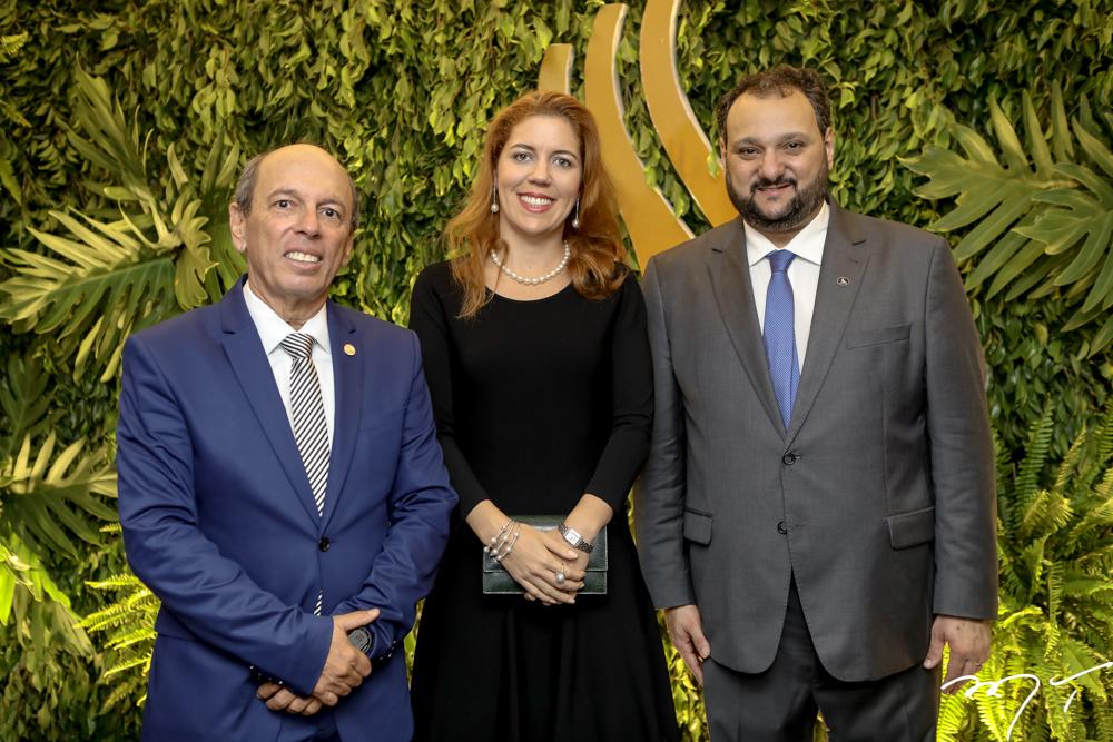 Andre Montenegro, Ticiana Queiroz e Patriolino Dias