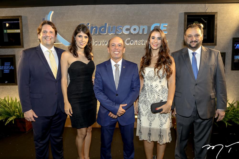 Daniel e Flavia Simões, Andre Montenegro, Vivian Barbosa e Patriolino Dias