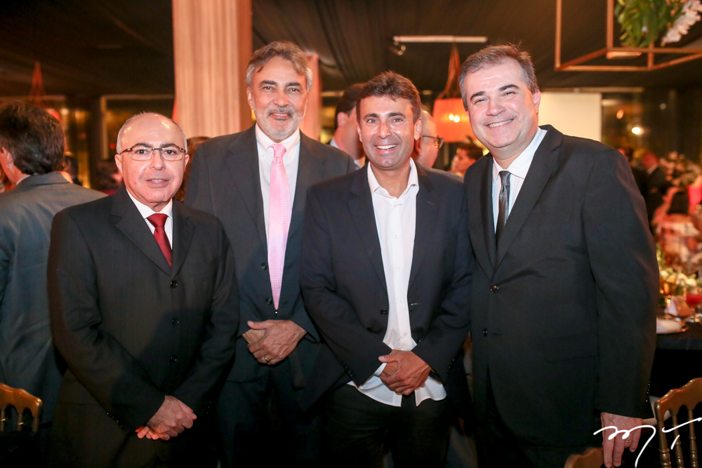 Giovane Acioly,Paulo Angelim,Macos Novais e Ricardo Bezerra