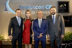 Andre e Paula Rolim, Andre Montenegro e Patriolino Dias