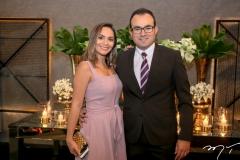 Carliane e Alberto Mendes