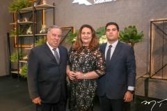 Dauter Mendes, Alexandra Vasconcelos e Dalmo Mendes