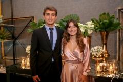 Joaquim Moura e Katarina Holanda