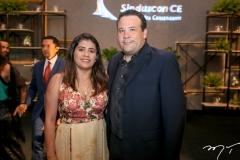 Vivian Rebouças e Emanuel Batista