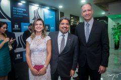 Aline Vasques, Leandro Vasques e Regis Medeiros