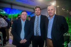 Aurélio Gonçalves, Marcos Oliveira e Darcy Itiberê