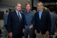 Kalil Otoch, José Simões e Paulo Angelim