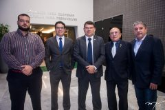 Daniel Morais, Luiz Fernando Bezerra, Sérgio Lopes, Marcos-Montenegro-e-Sampaio-Filho-