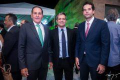 João Fiuza, Rodrigo Quental e João Fiuza Filho