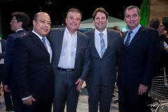 Josielton Aquino, Ricardo Bezerra, Daniel Simões e Flávio Pinto
