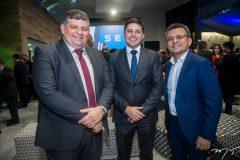 Paulo Nobrega, Daniel Rios e Adriano Muniz