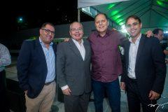 Rui Palácio, Luciano Ramos, Lupércio Gurjão e George Fechine