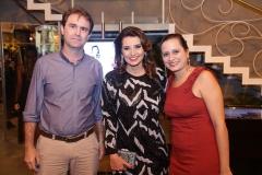 Alexandre Landim, Marcia Travessoni e Mariana Landim