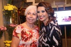 Alodia Guimarães e  Marcia Travessoni