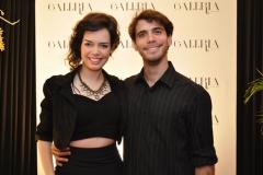 Beatrice Melo e Samuel Amorim