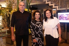 Claudio Alencar , Marcia Travessoni  e Ana Claudia Alencar