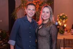 Constantino Dias e Talynie Mihaliuc
