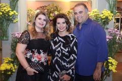 Daniele Pinheiro, Marcia Travessoni  e Valdisio Pinheiro