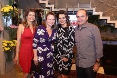 Élida Escócia, Lina Mendonça, Márcia Travessoni  e Beto Mendonça