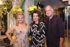 Excelsa Costa Lima, Marcia Travessoni  e Artur Costa Lima