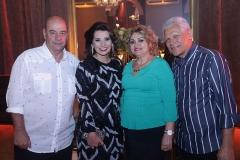Fernando e Marcia Travessoni , Vera Costa e Antonio Costa