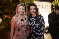 Gaída Dias e Marcia Travessoni