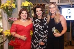 Gisela Vieira,  Marcia Travessoni e Célia Magalhães