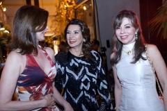 Gláucia Andrade, Marcia Travessoni e Venusia Ribeiro