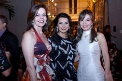 Glaucia Andrade, Marcia Travessoni e Venusia Ribeiro