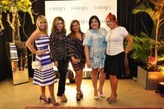 Grazi Nogueira, Daniele Cordeiro, Vanessa Queiroz, Viviane Almada e Fátima Duarte