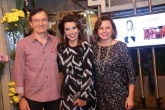 Hélio Perdigão, Marcia Travessoni  e Verônica Perdigão