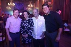 Idelfonso Rodrigues, Marcia e Fernando Travessoni e Rafael Rodrigues